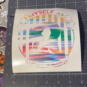 8/$15 Lydia Vinyl Decal
